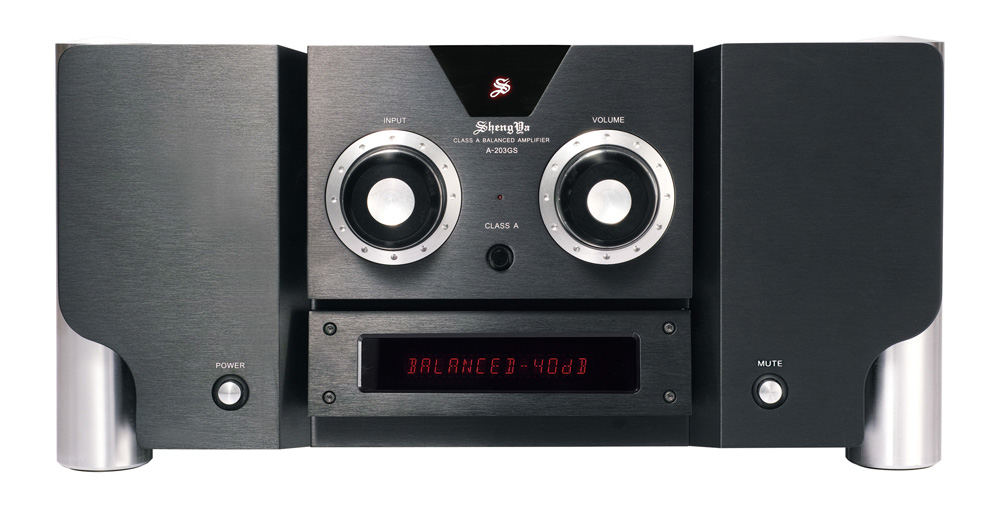 ShengYa A-203GS Integrated Amplifier Fully Balanced CLASS A Power Output 100W HIFI Integrated Amplifier