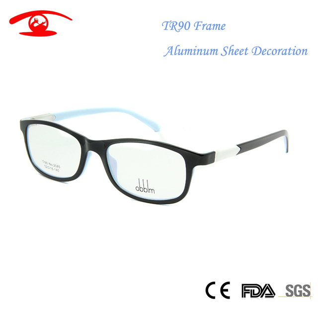 19b597f1594 2016 TR90 Flexible Womens Eyeglass Frames Men Women Square Nerd Glass Eye Glasses  Frame Optical in