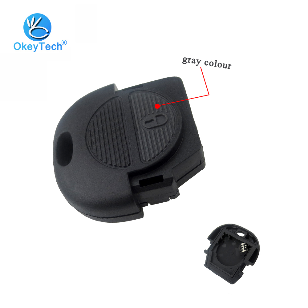 OkeyTech 2 Button Gray High Quality with Batter Holder Key Shell Head Fob for Nissan Pulsar Patrol Micra Almera Primera X-Trail carburetor carb for nissan a12 cherry pulsar vanette truck datsun sunny b210 pulsar truck 16010 h1602 16010h1602 16010 h1602