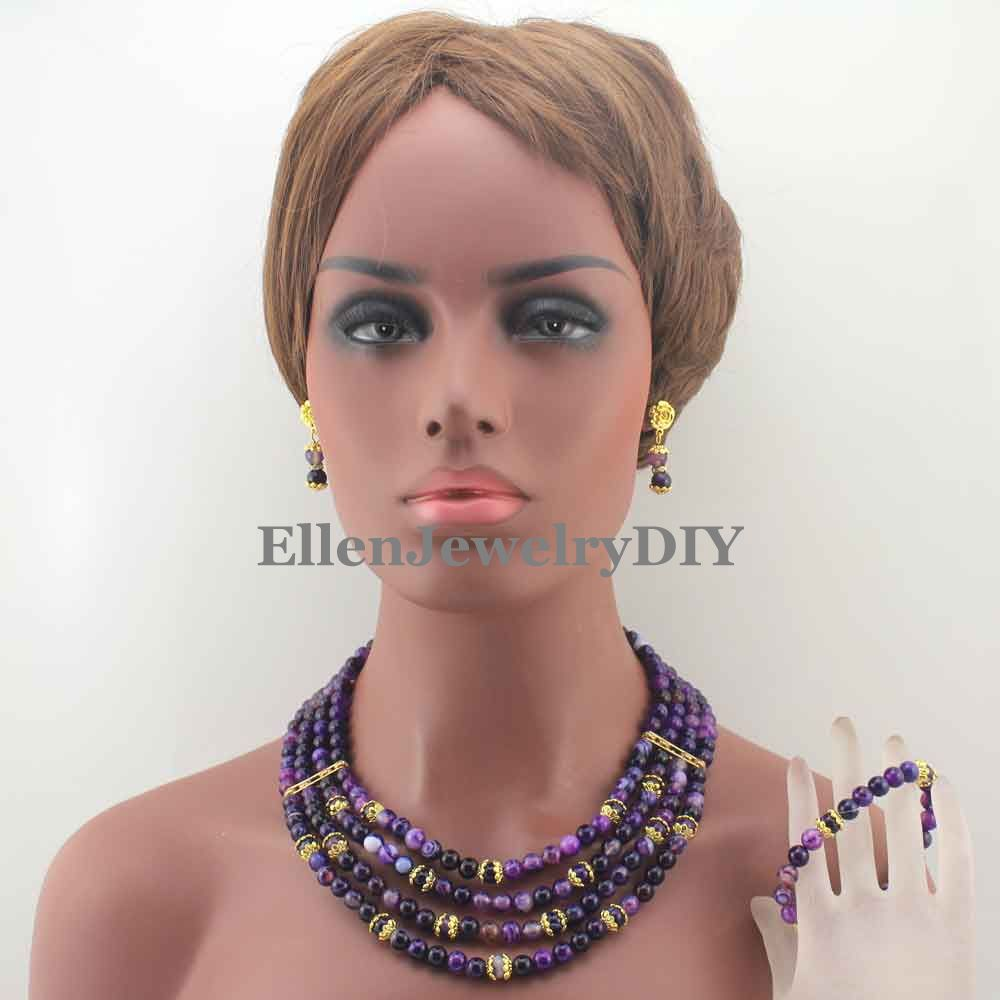 Fashion New Purple beautiful Necklace Bridal Party Necklace Bridesmaid Gift Beads Jewelry Free Shipping W13163Fashion New Purple beautiful Necklace Bridal Party Necklace Bridesmaid Gift Beads Jewelry Free Shipping W13163