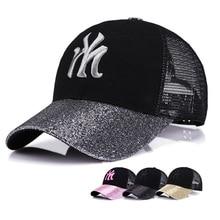 New outdoor baseball cap summer breathable sunscreen sunshade cap, fashionable Korean version bright along the duck tongue