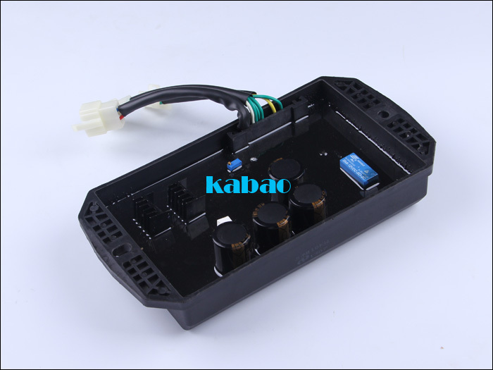 Free shipping 3 phase Three Phase gasoline generator 10kW spare parts suit for any generator Automatic Voltage Regulator 10 wire free shipping 8 5kw 15kw avr gasoline generator automatic voltage regulator suit for other brand