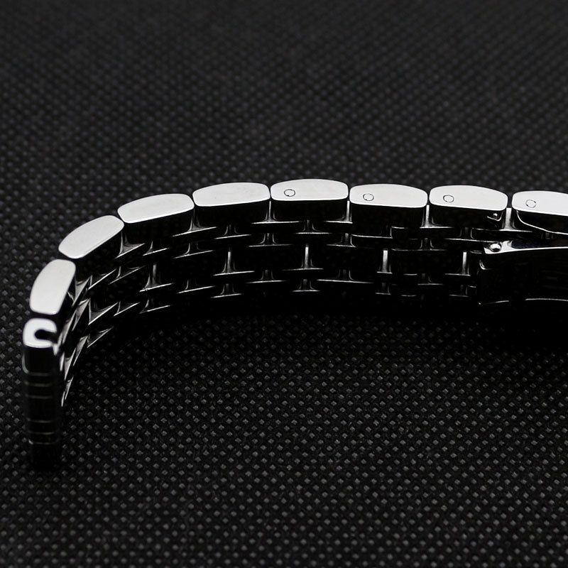 20mm Stainless Steel Solid Nine Bead Links Watch Band Bracelet Strap for Wrist Watch Quartz Mechanical watches free shipping originalnew 9 inch lcd screen cable number fy 90dh 40p p09
