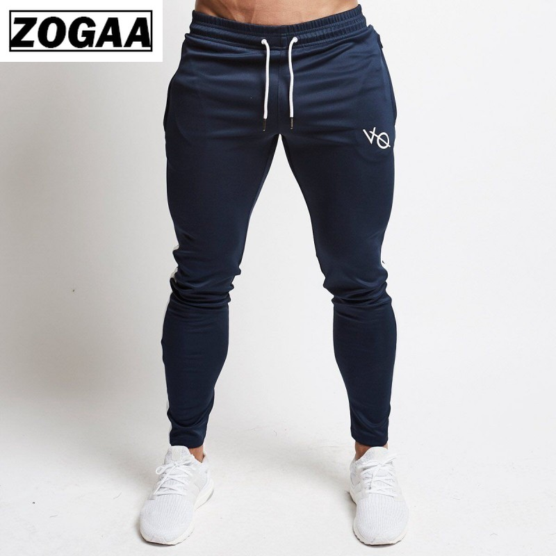 ZOGGA 2019 New Muscle Fitness Brother Sweatpants  Men Pants With Slacks And Slim Running Aesthetic Pants Men  Absorb Sweater