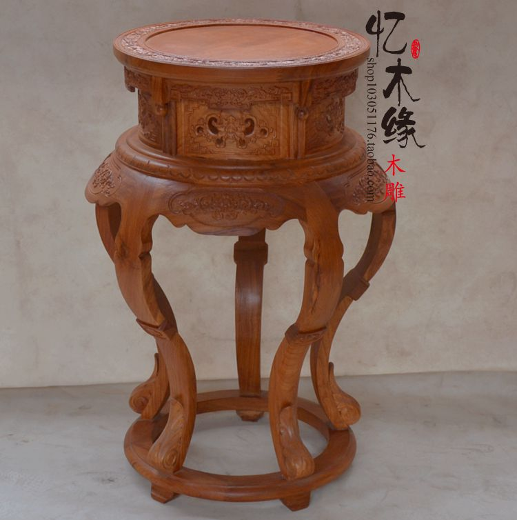 The African pear flower a few large mahogany antique wood flowerpot rack frame bonsai Chinese living room corner a few special o happy few блузка