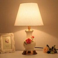 Creative And Modern Ceramic Table Lamps Retro Fashion Bedroom Bedside Lamp Reading Lamp Decorative Desk Lamp