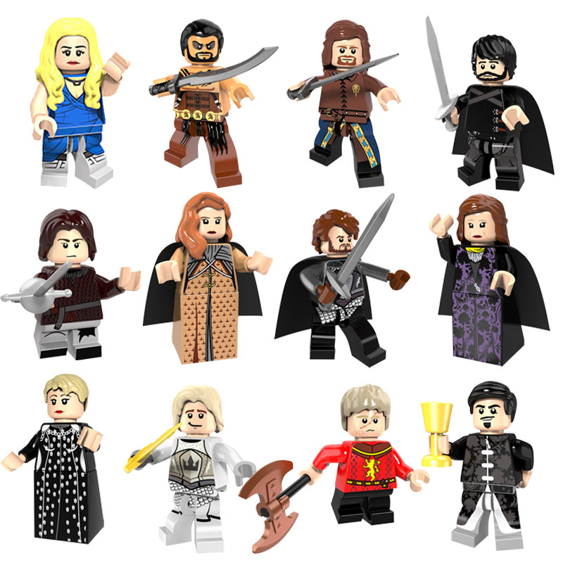 CZHY Game of Thrones Figure Ice and Fire Series Figures Building Blocks Kids Toys White Walker Jime Lannister Cartoon Movie Toy fire maple sw28888 outdoor tactical motorcycling wild game abs helmet khaki