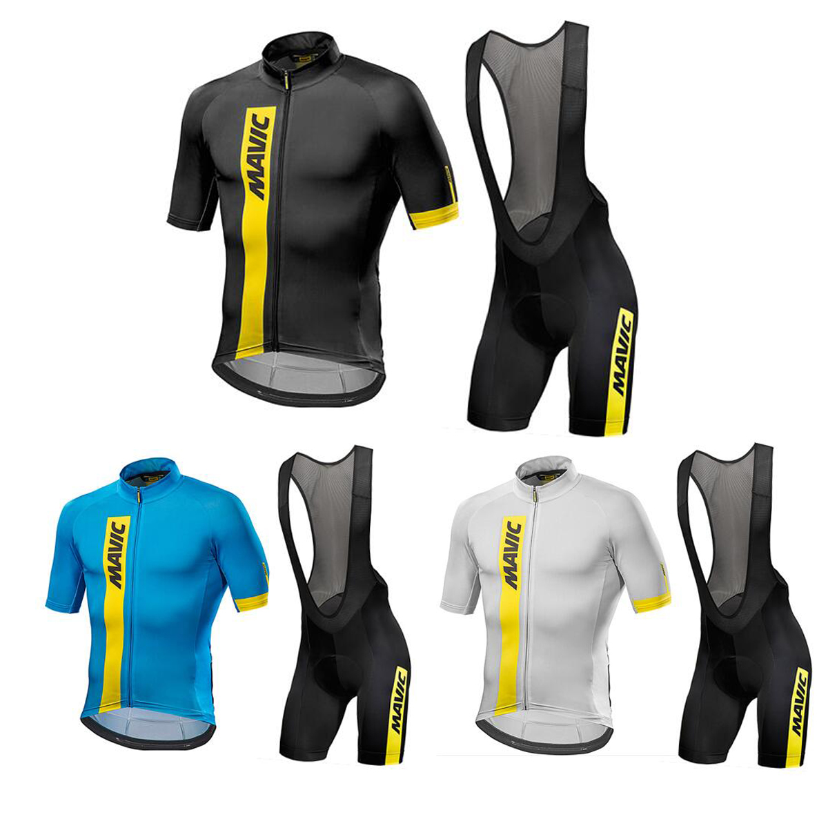 New Brand Team Bicycle Bike jersey MAVIC Anniversary Special Edition 2018 Summer Men Cycling Jerseys Clothing Set cycling clothing rushed mtb mavic 2017 bike jerseys men for graffiti cycling polyester breathable bicycle new multicolor s 6xl