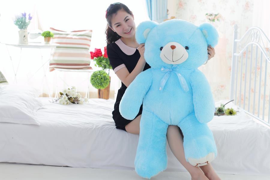stuffed toy large 90cm cartoon teddy bear plush toy soft doll hugging pillow Christmas gift b1582
