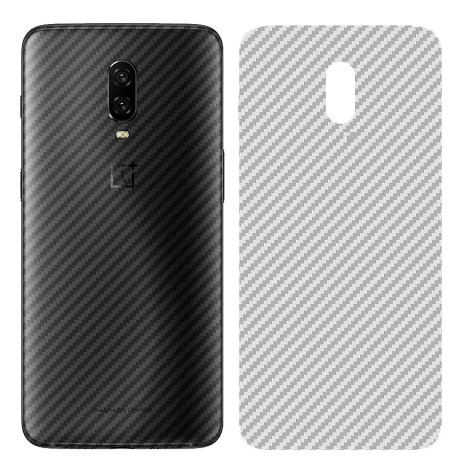 5Pcs/lot 3D Back Cover Protective Guard Film Carbon Fiber Rear Back Screen Protector for OnePlus One Plus 3 3T 5 5T 6 6T