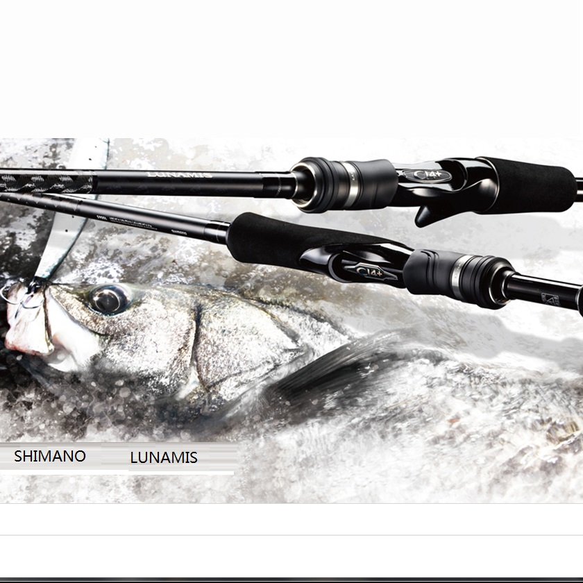 SHIMANO Spinning rods LUNAMIS Fishing rod Carbon fiber material Casting Rod Sea Bass Rod Fishing gear