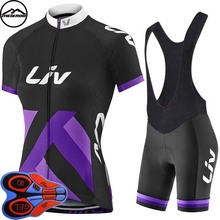 Breathable Wicking Jersey Short Sleeved Suit Women Bicycle Cycling Jersey Set with 9D Padded Shorts Bike