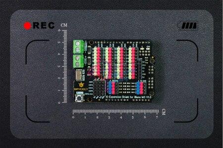 DFRobot Тяжести-IO Расширение Щит для Bluno M3, D0 ~ D38 Цифровых выводов/5 UART/8 PWM/8 Аналоговый Вход/3.3 В или 5 В Серво Порт Питания