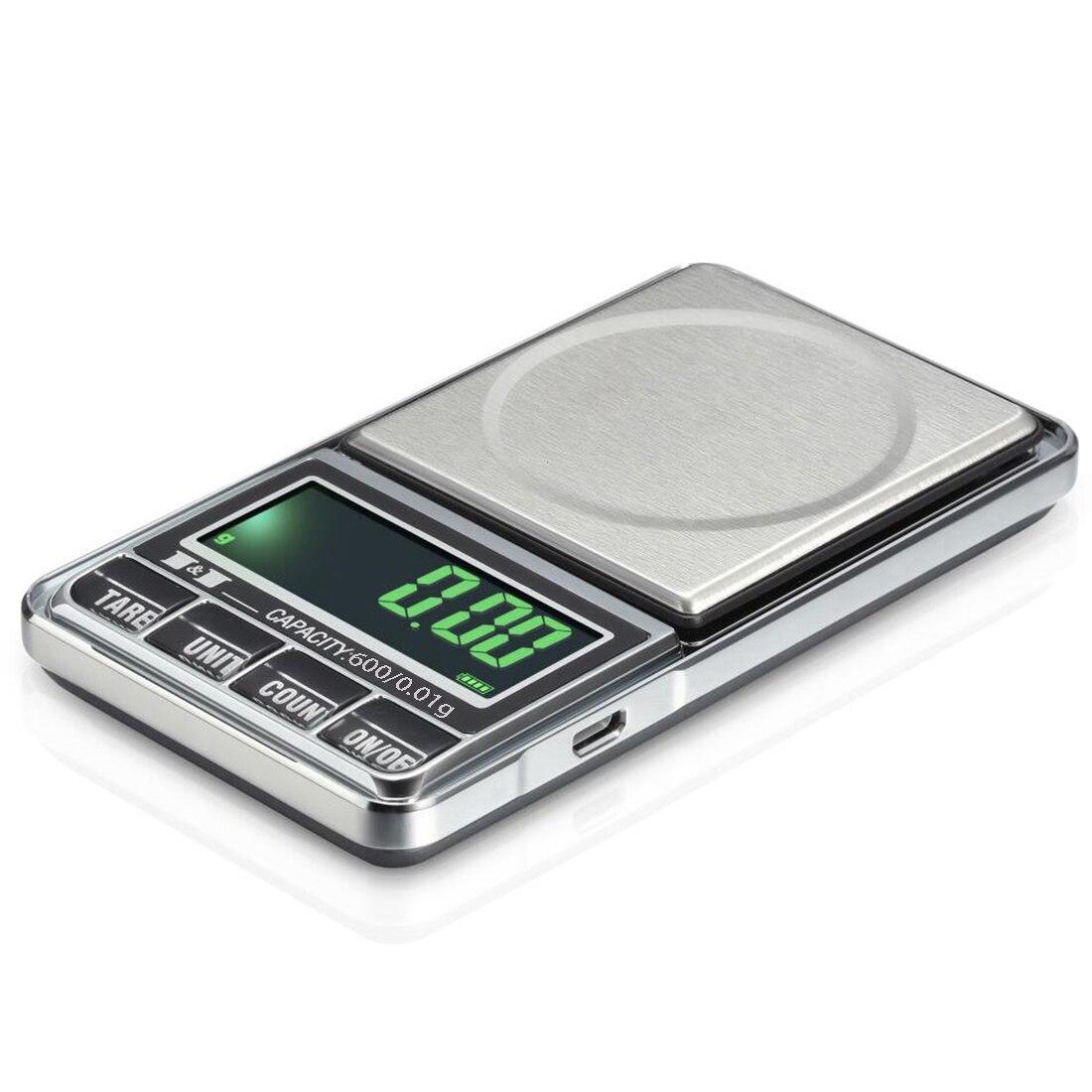 0,01 Gewicht Balance Elektronische Waagen 100 G-600g Mini Präzision Digitale Waage Für Gold Bijoux Sterling Silber Schmuck Skala Weich Und Rutschhemmend