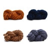 Knitting Wool Warm DIY Milk Cotton Yarn Baby Wool Yarn For Knitting Children Hand Knitted Yarn
