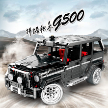1343Pcs Technic Series Benzes Big G Car Set Building Blocks Compatible Legoings City Vehicle DIY Bricks Children Toys Boy Gifts decool 3341 technic city series the extreme cruiser suv car figure blocks building bricks toys for children compatible legoe