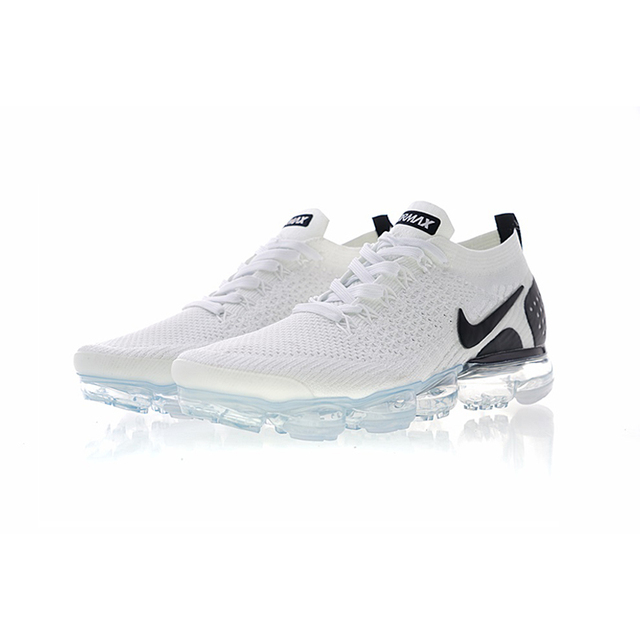 Original NIKE AIR VAPORMAX FLYKNIT 2 Men and Women Running Shoes Sneakers Sport Outdoor Shoes Men's Sports Classic Shoes DMX 3