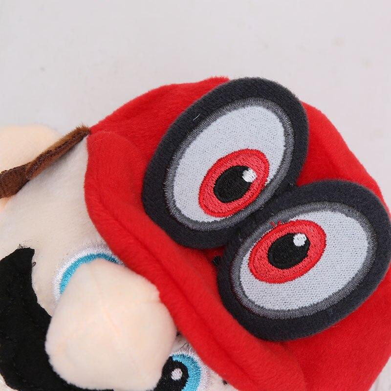 MARIO BROS ODYSSEY//SET 3 PELUCHES 25 CM-MARIO RED CAPPY MARIO GROOM /& PEACH