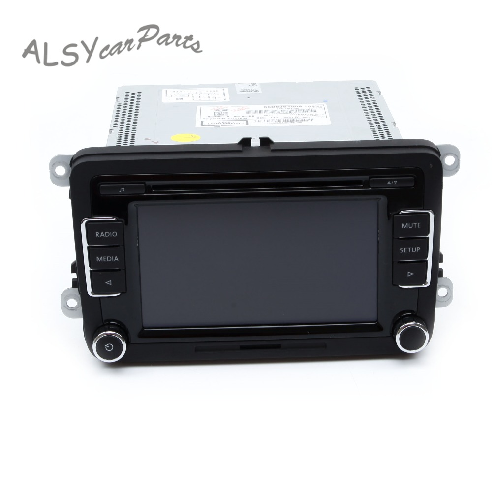 KEOGHS OEM 56D 035 190 A RCD510 Car Radio CD Player For VW Tiguan Golf MK6 Passat B6 Support OPS Rear View Camera Bluetooth