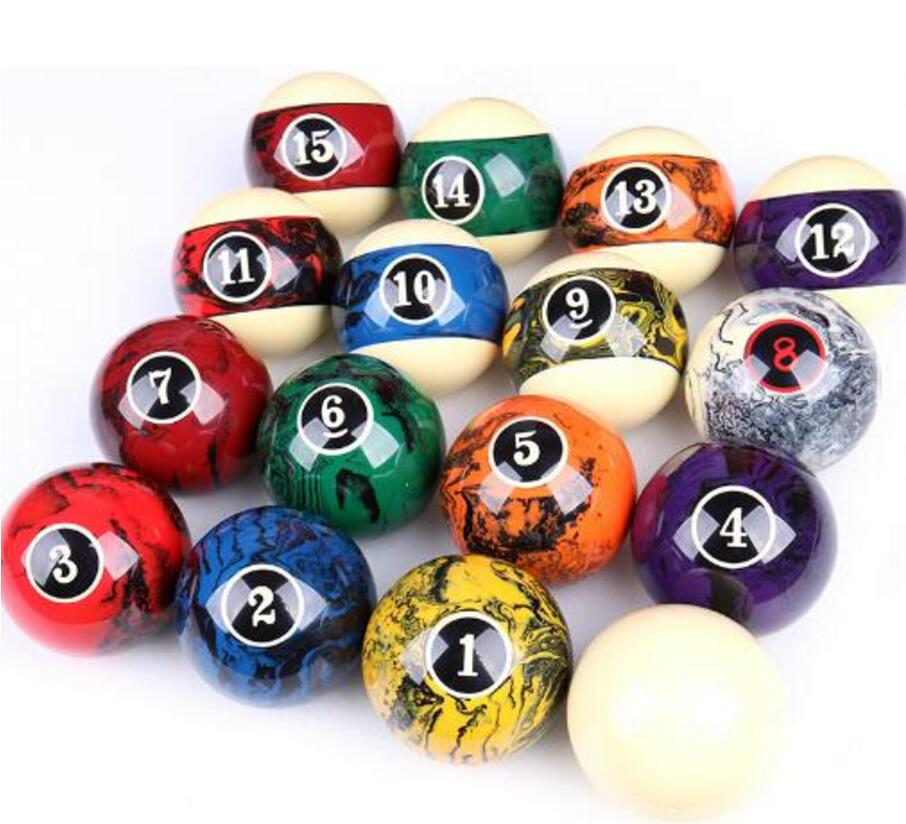 New Cuppa Billiard Balls One Set Of 57mm Balls Bright Crystal Balls Black Eight Balls 16 Color Billiard Sell For Sets China 2019