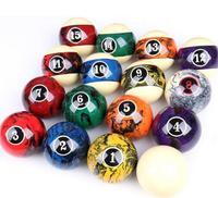New Cuppa Billiard Balls One Set of 57mm Balls Bright Crystal Balls Black Eight Balls 16 Color Billiard Sell for Sets China 2019