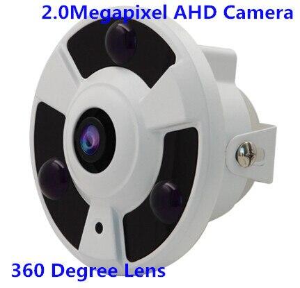 ФОТО 360 Degree Wide Angle FishEye 1.3MP 1.25MM Lens Camera CCTV Indoor With 3 ARRAY IR LED
