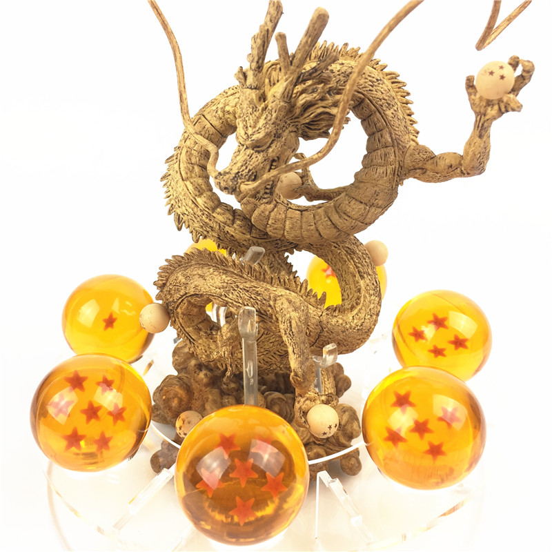 Newest Anime Dragon Ball Action Figures Shenron Set Dragonball Z Figures Set Version. 2  ...