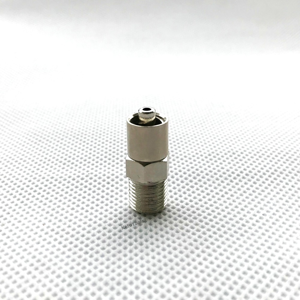 Locking Head Luer Lock Adapter Screw End G1/8,G1/4, M10*1, M12*1 Optional For Automatic Dispensing Valve