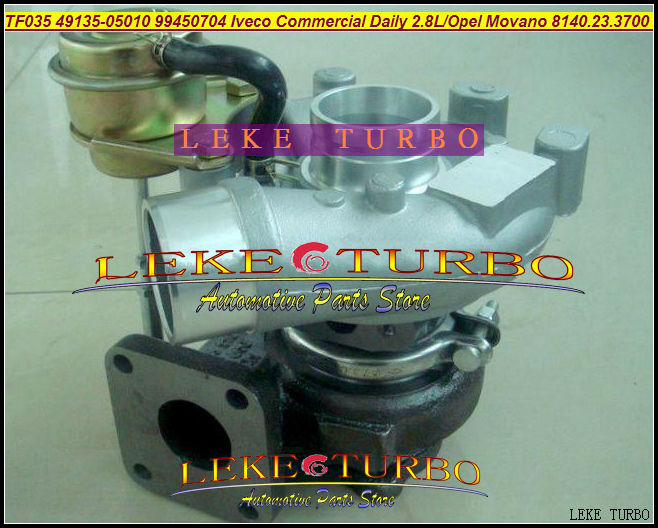 TF035 49135-05010 49135-05500 49135-08100 99450704 53149886445 Turbocharger Turbo For Jeep Grand Cherokee 3.1L