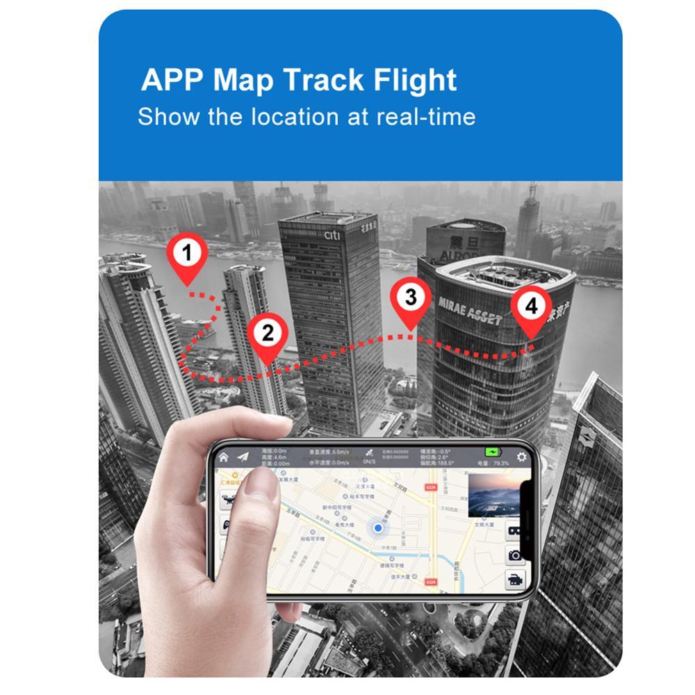 S3 1080 รีโมทคอนโทรล Brushless เฮลิคอปเตอร์ Quadcopter GPS Drone Fixed Point เครื่องบินติดตามสุทธิถ่ายภาพ 5G Pict-ใน เฮลิคอปเตอร์ RC จาก ของเล่นและงานอดิเรก บน   3