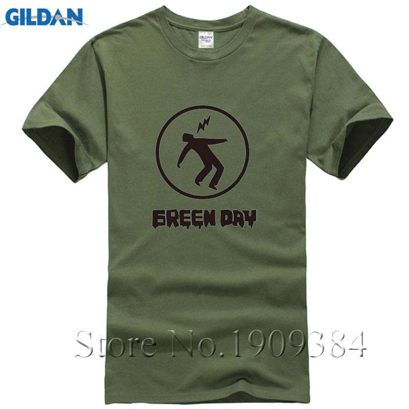 2017 Newest Men S Funny Green Day T Shirt Teenages Fist Green Days Band Logo Sweater