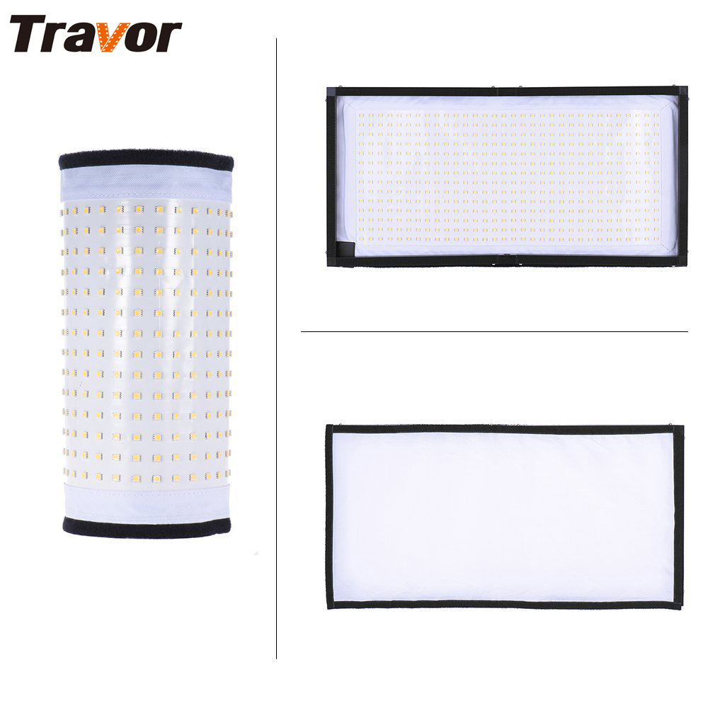 цены Travor Flexible led video light FL-3060 size 30*60CM CRI95 5500K with 2.4G remote control for video shooting