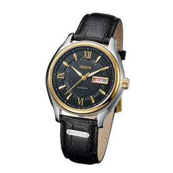 Switzerland Nesun Japan NH36A Automatic Movement Watch Men Luxury Brand Men's Watches Sapphire Genuine Leather N9205-2