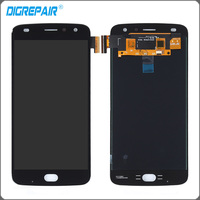 Black For Motorola Z2 Play Xt1710 LCD Display Touch Screen Panel With Digitizer Front Glass Assembly