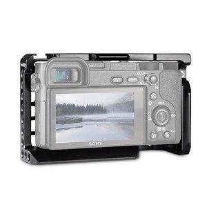 Image 3 - SmallRig Für Sony A6500/A6300 Kamera Käfig Verbesserte Version Schutzhülle Dslr Kamera Rig Für Sony A6500 Aluminium Legierung Käfig  1889