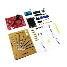 Testeur multifonctionnel GM328 Transistor testeur Diode Capacitance ESR mètre PWM générateur de Signal donde carrée/boîtier