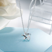 SA SILVERAGE Real 925 Sterling Silver Long Necklaces Pendants Fine Jewelry Star 925 Sterling-Silver Maxi Pendant Necklace Women