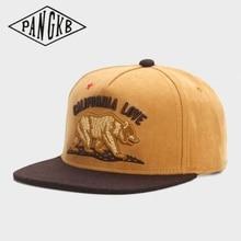 Snapback Hat Sun-Baseball-Cap Spring PANGKB CALI Fashion Women Brand Casual Adult