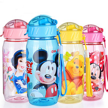 New Arrival 4 Colors Available 400ml Eco-friendly Cartoon Shaped My Water Bottle For Children Camping  Sports Bottles