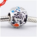 Alice's Tea Party Openwork Beads Fits Pandora Bracelet Original 925-Sterling-Silver 2016 Spring Charms Sterling-Silver-Jewelry