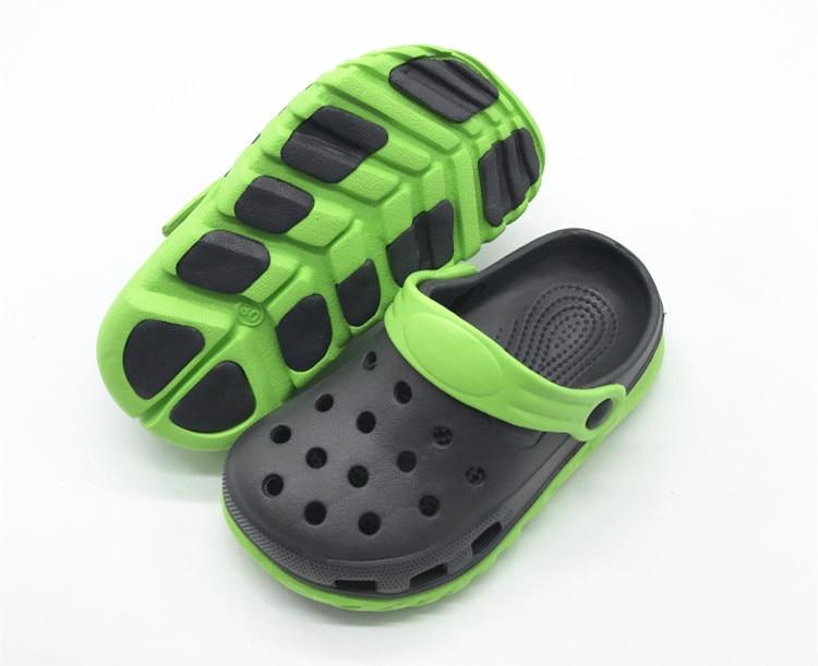 Boys Kids Children Garden Clogs Mules Summer Shoes Sandals