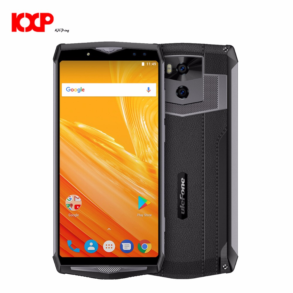 Ulefone Power 5 13000mAh MTK6763 Octa Core Android 8.1 6GB+64GB 4G Smartphone 6.0 FHD 21MP Wireless charger Fingprint Face ID