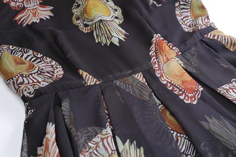 der Sommer Casual Kleider 8