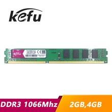 KEFU pamięci RAM DDR3 2 GB 4 GB 1066 1066 mhz PC3-8500U PC3-8500 komputer stacjonarny PC pamięci RAM pamięci DIMM 2G 4G tanie tanio Trzy Lata Pulpit PC3-8500U PC3-8500 U PC3-8500 240pin 1 5 V NON-ECC 4x czterech kanałów 1066Mhz 1066 Mhz 1066 11-11-11-28