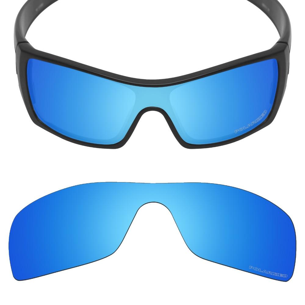 HKUCO Plus Replacement Lenses For Oakley Batwolf Sunglasses Transparent Polarized jNGIN16