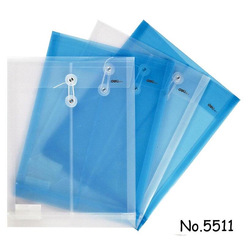 50ピース卸売ファイルフォルダa4透明ドキュメントバッグロープバックル掛け金ボタン分類収納文房具バッグオフィス学校  グループ上の オフィス用品 & 学用品 からの ファイルフォルダ の中 1