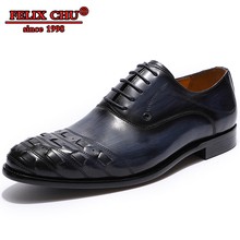 Luxury Genuine Leather Men Oxford Shoes Italian Designer Formal Casual Black Blue Color Pointed Toe Lace Up
