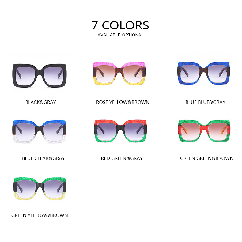 3b4e294447 POLYREAL 2018 New Ladies Sunglasses Luxury Women Brand Designer Sexy Square  Sun Glasses Sexy Female Shades For Party UV400-in Sunglasses from Apparel  ...