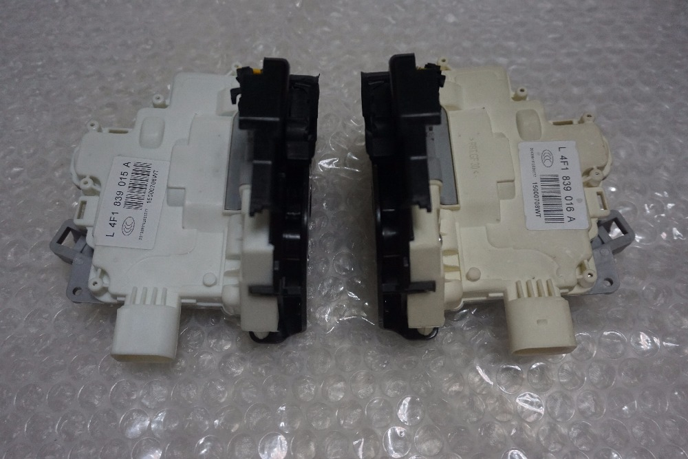 fast shipping pair 2pc Rear right + left Door Lock Latch Actuator For AUDI A3 A6 C6 8p Allroad A8 4F0839016 4F0839016D/E/G