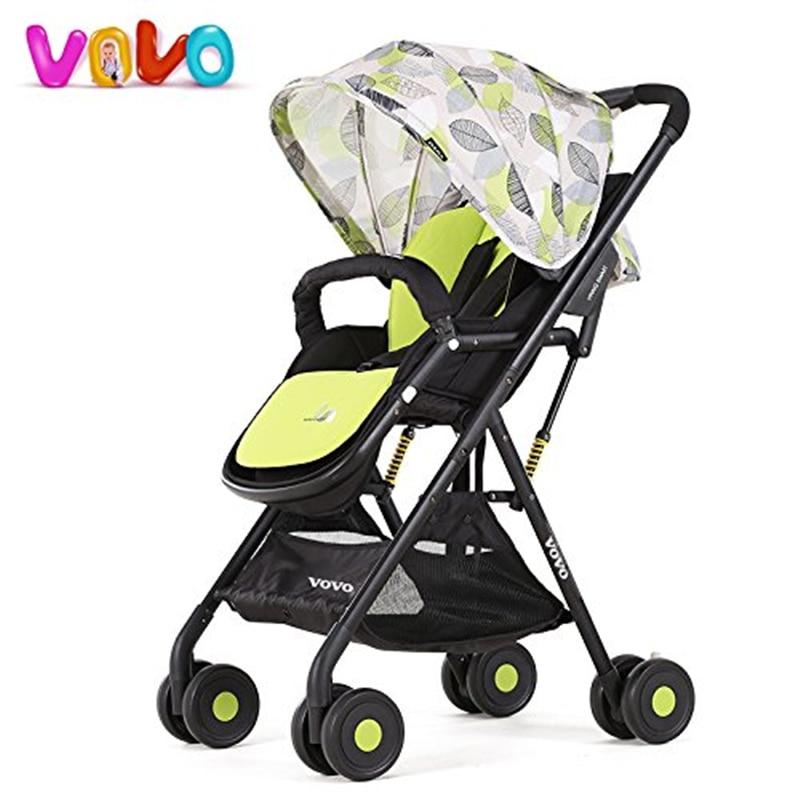 VOVO High Landscape Portable Stroller for 0-48 Months Baby Sitting & Lying, Children Pushchair, Baby Umbrella Cart beamon baby stroller division ultra portable dual purpose umbrella car high landscape